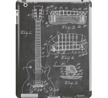 Gibson Les Paul  guitar us patent art 1955 blackboard iPad Case/Skin