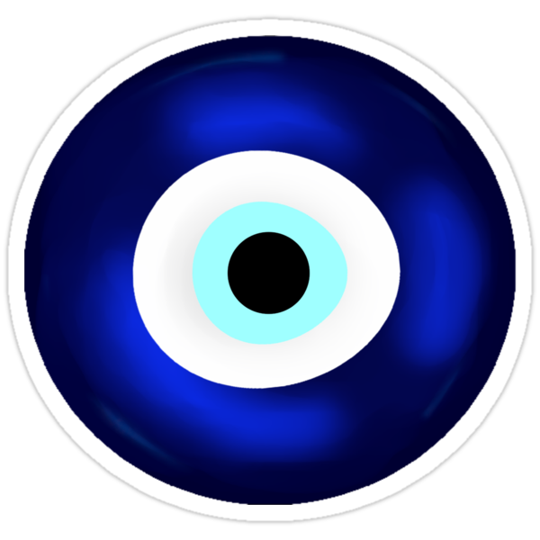 """Evil Eye"" Stickers by ChePanArt | Redbubble"