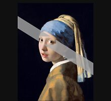 Girl with a Pearl Earring Modernized Unisex T-Shirt