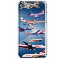 """TWA AIRLINES"" Vintage Airplane Travel Print iPhone Case/Skin"