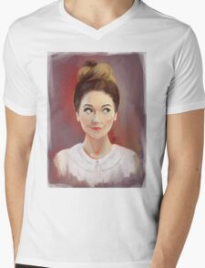 Zoella Mens V-Neck T-Shirt