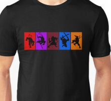 They're the worlds most fearsome fighting team! Unisex T-Shirt