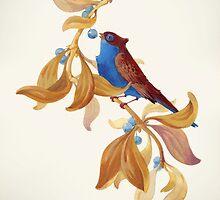 Blue birds song by Kasheva