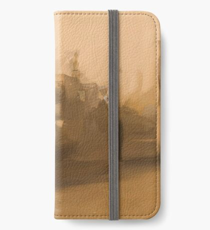 No place to be. iPhone Wallet/Case/Skin