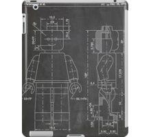 LEGO Minifigure US Patent Art Mini Figure blackboard iPad Case/Skin