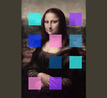 Mona Lisa Modernized Unisex T-Shirt