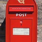 Copenhagen Postbox by CreativeEm