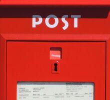 Copenhagen Postbox Sticker