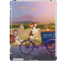 Travels with my Sis - The Hill Towns of France iPad Case/Skin
