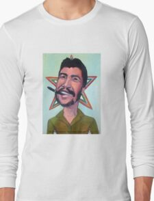 El Che Guevara by Diego Manuel Long Sleeve T-Shirt