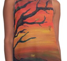 Autumnal Whispers Contrast Tank