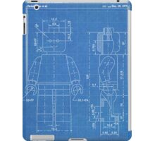 LEGO Minifigure US Patent Art Mini Figure blueprint iPad Case/Skin