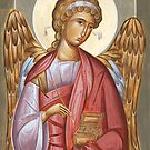 Archangel Raphael by ikonographics