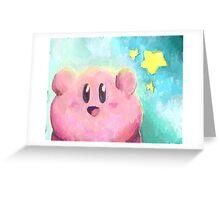 Kirby! Greeting Card