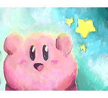 Kirby! Photographic Print
