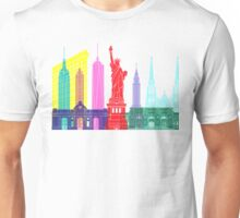 New York skyline pop Unisex T-Shirt