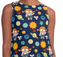 Planets Contrast Tank