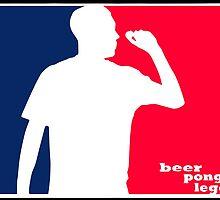 Beer Pong Legend by nikolafleur
