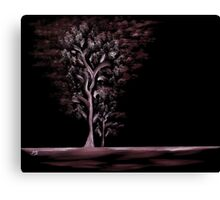 Out of the Dark - Ash Canvas Print