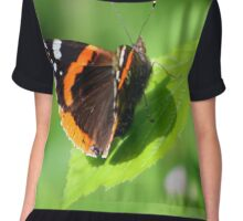 Red Admiral Chiffon Top