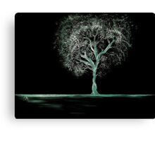 Out of the Dark - Luminous Canvas Print