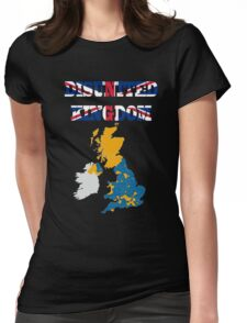 United Kingdom is not so United Womens Fitted T-Shirt