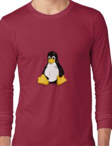 Tux the Linux Penguin - Acceptable Resolution Long Sleeve T-Shirt