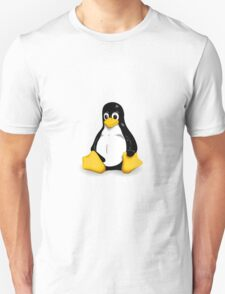 Tux the Linux Penguin - Acceptable Resolution Unisex T-Shirt
