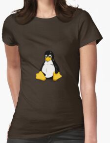 Tux the Linux Penguin - Acceptable Resolution Womens Fitted T-Shirt