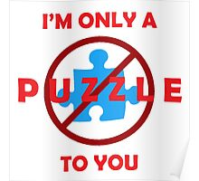 Only a Puzzle to You Poster