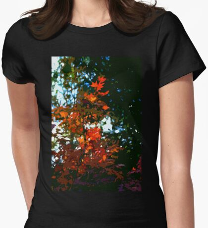 Abstract 281 Womens Fitted T-Shirt