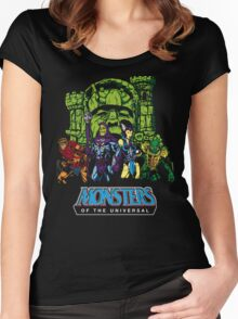 Monsters of the Universal Women's Fitted Scoop T-Shirt