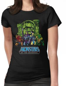 Monsters of the Universal Womens Fitted T-Shirt