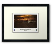 Operation Northern Delay Framed Print
