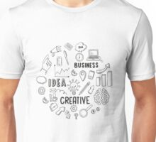 T-shirt Business idea creative Unisex T-Shirt
