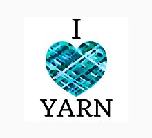 I Love Yarn -Aqua Unisex T-Shirt