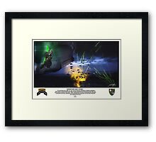 Operation Just Cause Framed Print