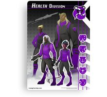 Health Division (Enlisted) Canvas Print