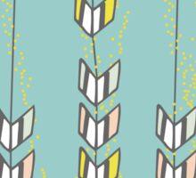 Freshtatic Chevron Arrows Illustration Pattern Sticker