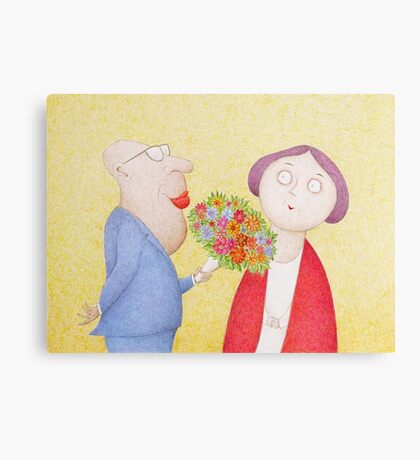I Know You Still Love Me Canvas Print