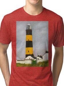 St. John's Point Lighthouse Tri-blend T-Shirt