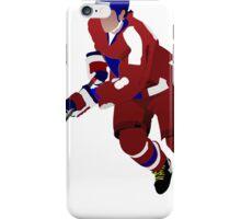 Ice hockey player iPhone Case/Skin