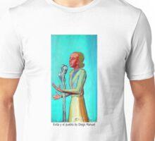 Evita y el pueblo by Diego Manuel Unisex T-Shirt