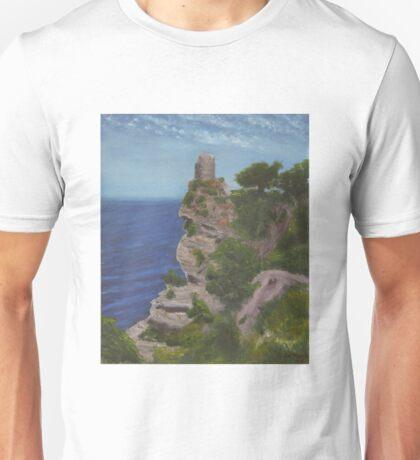 Watch Tower, Mallorca Unisex T-Shirt