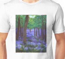 When bluebells seemed like fairy gifts. Unisex T-Shirt