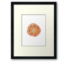 Orange you glad I didn't say Banana  Framed Print