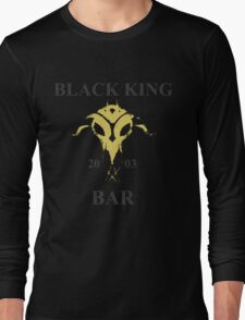 Black King Bar Long Sleeve T-Shirt