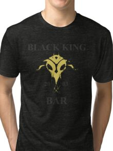 Black King Bar Tri-blend T-Shirt