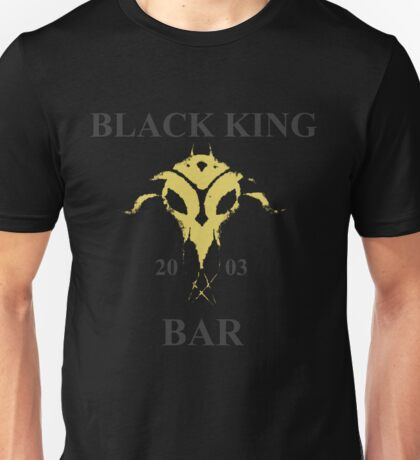 Black King Bar Unisex T-Shirt