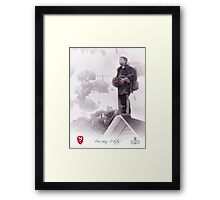 Airborne- One day I will fly Framed Print